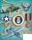 Military Grand Adhesions Embellishments - Air Force