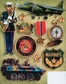 Military Grand Adhesions Embellishments - Marines