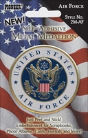 Military Metal Medallions - Air Force