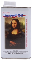 Mona Lisa Linseed Oil - 8 Ounces