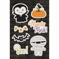 Monster Mash Canvas Stickers