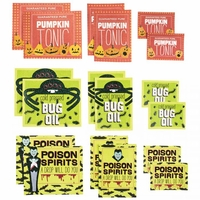 Monsters Drink Labels - Assorted