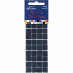 Mosaic Crystal Stickers - 10mm/Navy Blue - Click to enlarge