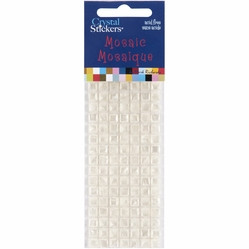 Mark Richards Mosaic Crystal Stickers - 5mm/Cream - Click to enlarge