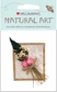 Mrs. Grossman's Natural Art Stickers - Pink Straw Flowers With Bow