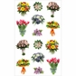 Mrs. Grossman's Stickers - Beautiful Bouquets