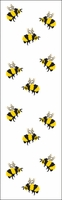 Mrs. Grossman's Stickers - Bees