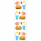 Mrs. Grossman's Stickers - Burgers & Fries