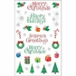Mrs. Grossman's Stickers - Christmas Holiday