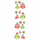 Mrs. Grossman's Stickers - Christmas Owls