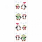 Mrs. Grossman's Stickers - Christmas Penguins