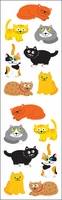 Mrs. Grossman's Stickers - Chubby Cats
