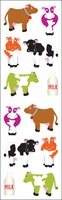 Mrs. Grossman's Stickers - Chubby Cows