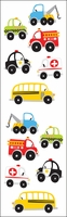 Mrs. Grossman's Stickers - Chubby Work Vehicles
