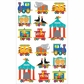 Mrs. Grossman's Stickers - Circus Train