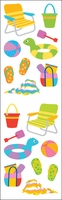 Mrs. Grossman's Stickers - Day At The Beach