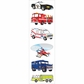 Mrs. Grossman's Stickers - Emergency Vehicles
