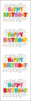 Mrs. Grossman's Stickers - Expressions Happy Birthday/Reflections