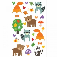 Mrs. Grossman's Stickers - Forest Pals