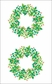 Mrs. Grossman's Stickers - Holly Berry Wreath