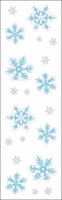 Mrs. Grossman's Stickers - Icy Snowflakes