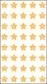 Mrs. Grossman's Stickers - Micro Gold Stars