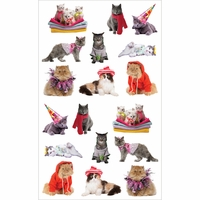 Mrs. Grossman's Stickers - Pampered Cats