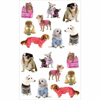 Mrs. Grossman's Stickers - Pampered Dogs