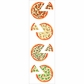 Mrs. Grossman's Stickers - Pizza Pies