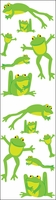 Mrs. Grossman's Stickers - Playful Frogs