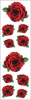 Mrs. Grossman's Stickers - Red Roses