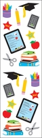 Mrs. Grossman's Stickers - School Stuff