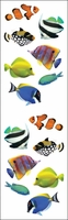 Mrs. Grossman's Stickers - Tropical Fish