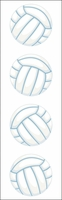Mrs. Grossman's Stickers - Volleyball