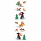 Mrs. Grossman's Stickers - Winter Dog Fun