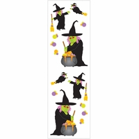 Mrs. Grossman's Stickers - Witchy Witch