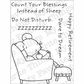 My Favorite Things Pure Innocence Clear Stamps - Do Not Disturb This Mouse