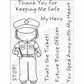 My Favorite Things Pure Innocence Clear Stamps - Policewoman