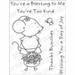 My Favorite Things Pure Innocence Stamps - Mouse In The House/Blessed Mouse