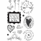 My Sentiments Exactly Clear Stamps - Everyday Love