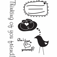 My Sentiments Exactly Clear Stamps - Love Yourself