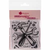 <strong>NEW</strong> Woodware Clear Stamps