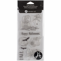 Outlines Clear Stamp Set - Happy Halloween