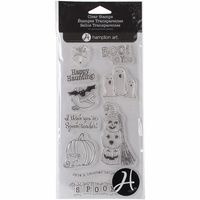 Outlines Clear Stamp Set - Spooktacular