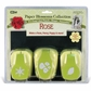 Paper Blossoms Punch Set/3 w/Molding Mat - Rose
