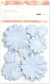 Paper Flowers Mixed Pack - Baby Blue