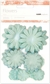 Paper Flowers Mixed Pack - Blue Ice
