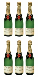 Paper House StickyPix Stickers - Champagne Bottle - Click to enlarge