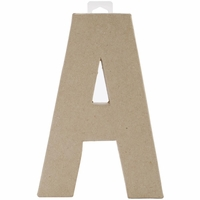"""Paper Mache Letters 8"""" <font color=""""red""""><strong>40% OFF!!</strong></font>"""