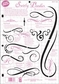 Paper Pizazz Plastic Templates - Swirly Doodles